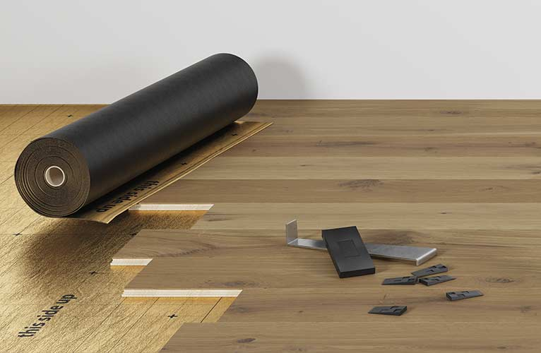 Installation PARQUET TARIMAS QUICK STEP