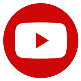 icono youtube pie pagina